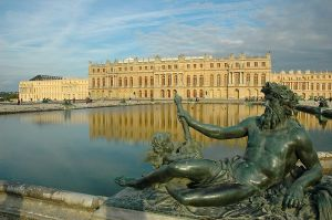 The Palace of Versailles, home to French kings and queens.