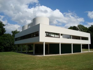 Villa Savoye is a dramatic revisioning of residential architecture.