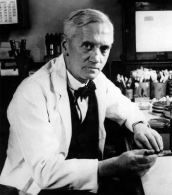 Alexander Fleming.