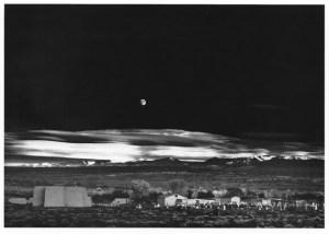 Moonrise, Hernandez, New Mexico.