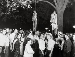 The Lynching of Young Blacks.