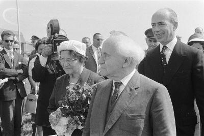 David Ben-Gurion in 1960.