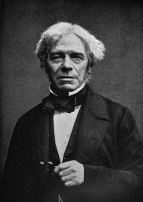 Photograph of Michael Faraday from about 1861, probably taken by John Watkins.