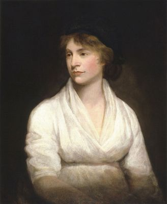 John Opie's portrait of Mary Wollstonecraft, from about 1797, is now in the National Portrait Gallery, London.