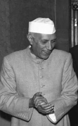 Jawarlahal Nehru in 1959.