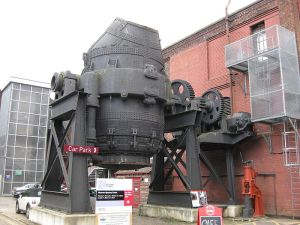 This Bessemer converter, now located at Kelham Island Museum, UK, stopped operating in 1978.