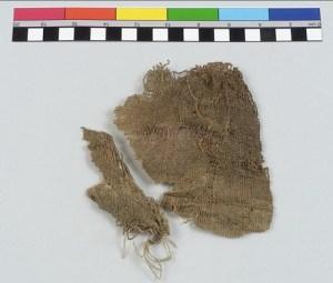Egyptian linen, woven in 5000 BCE.