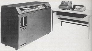 The IBM 610, from 1957, was the first computer designed to be operated by one person, using a keyboard.