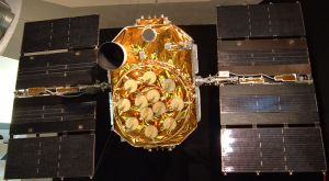 A Block II-A Global Positioning System satellite, from the 1990s.