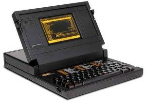 Bill Moggridge's GRiD 1101 laptop, from 1979-1980.