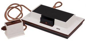 The 1972 Magnavox Odyssey was the first video game console.