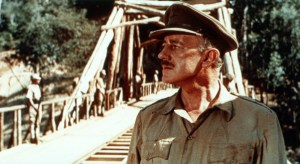 Alec Guinness in The Bridge on the River Kwai (1957).
