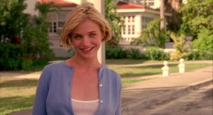 Cameron Diaz in There's Something About Mary (1995, from the Farrelly Brothers.