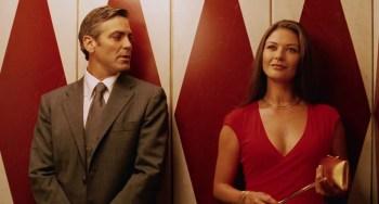 Catherine Zeta-Jones and George Clooney in the Coen Brothers' Intolerable Cruelty.