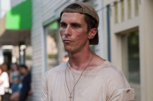 Christian Bale in The Fighter, for which he won an Oscar for Best Actor in a Supporting Role.