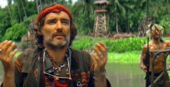 Dennis Hopper in Francis Ford Coppola's Apocalypse Now (1979).