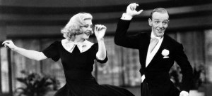 Fred Astaire and Ginger Rogers in Swing Time (1936).