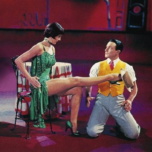 Gene Kelly and Cyd Charisse in Singin' in the Rain (1952).