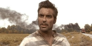 George Clooney in the Coen Brothers' O Brother, Where Art Thou? (1998).