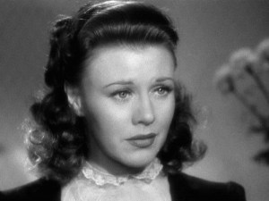 Ginger Rogers in Kitty Foyle (1940).