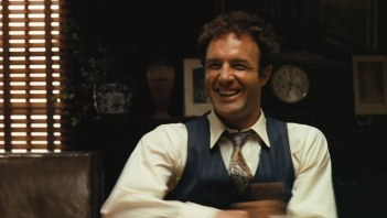 James Caan as Sonny in Francis Ford Coppola's The Godfather (1972).