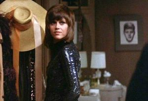Jane Fonda in Klute (1971), for which she won a Best Actress Oscar.