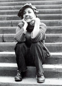 Jeanne Moreau in Francois Truffaut's Jules et Jim (1962).