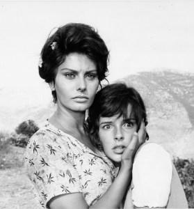Sophia Loren and Eleonore Leonard in Two Women (1960).