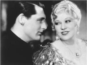 Mae West and Cary Grant in She Done Him Wrong (1933).
