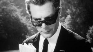 Marcello Mastroianni in Federico Fellini's 8 1/2 (1963).