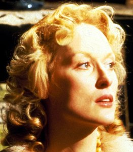 Maryl Streep in Sophie's Choice.
