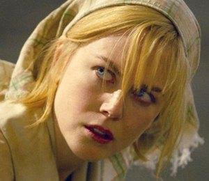 Nicole Kidman in Dogville (2003).