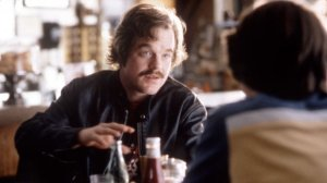 Philip Seymour Hoffman as Lester Bangs in Almost Famous (2000).