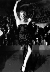 Rita Hayworth in Gilda (1946).
