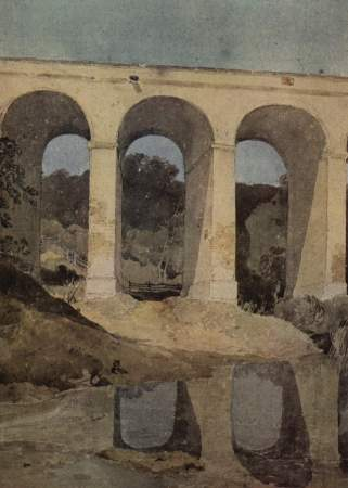 John Sell Cotman's painting of Crambe Beck Bridge.