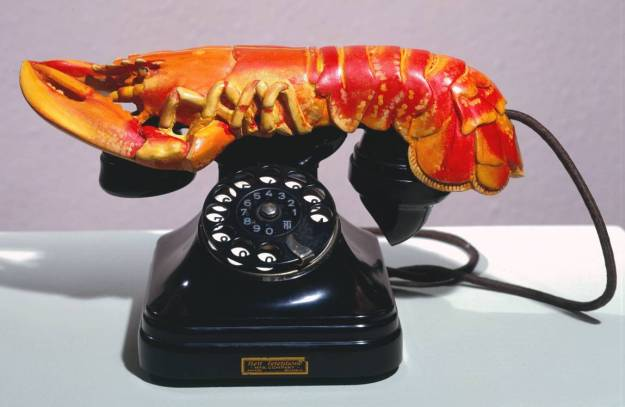 Lobster Telephone 1936 by Salvador Dalí 1904-1989