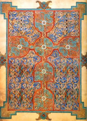 lindisfarne carpet page