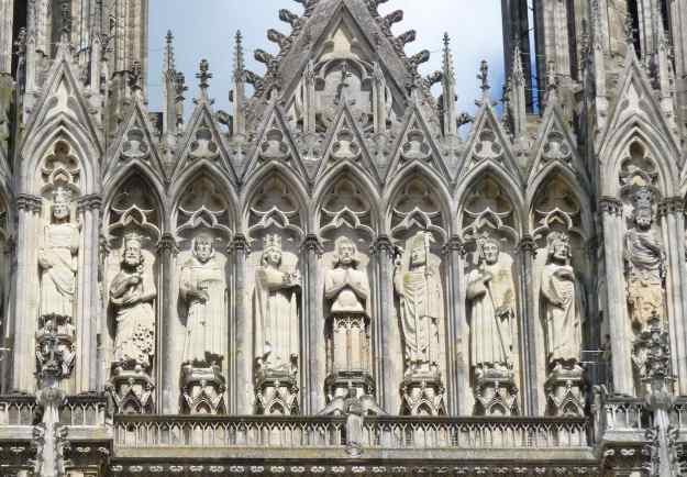 Rheims Cathedral Kings of France