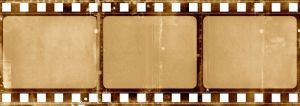 Celluloid film.