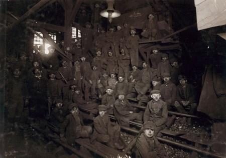 Breaker Boys in Coal Chute.