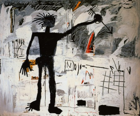 A 1982 Self-Portrait by Jean-Michel Basquiat.