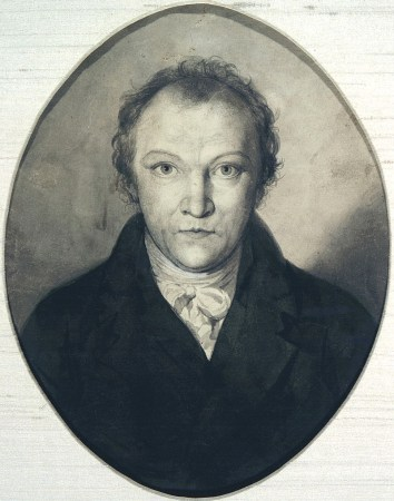 An 1802 Self-Portrait by William Blake.