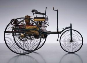 The Benz Patent Motor Car.