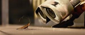 A still image from Pixar's Wall-E.