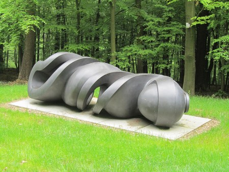 Early Forms (St. Gallen), by Tony Cragg, is located in the Waldfrieden Sculpture Park in Wuppertal, Germany.
