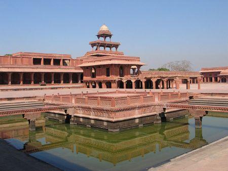 A view of Fatehpur Sikri.