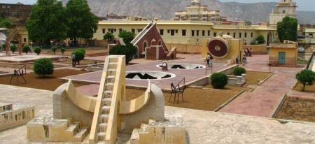 Jantar Mantar in Jaipur, India.