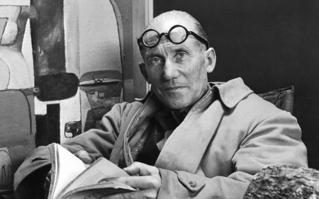 An anonymous undated photograph of Le Corbusier (Charles-Édouard Jeanneret-Gris).