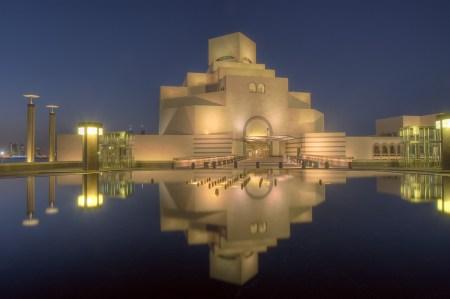 The Museum of Islamic Art in Doha, Qatar.
