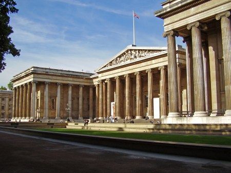 Sir Robert Smirke's original design for the British Museum in London.
